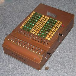 Jaap's Mechanical Calculators Page