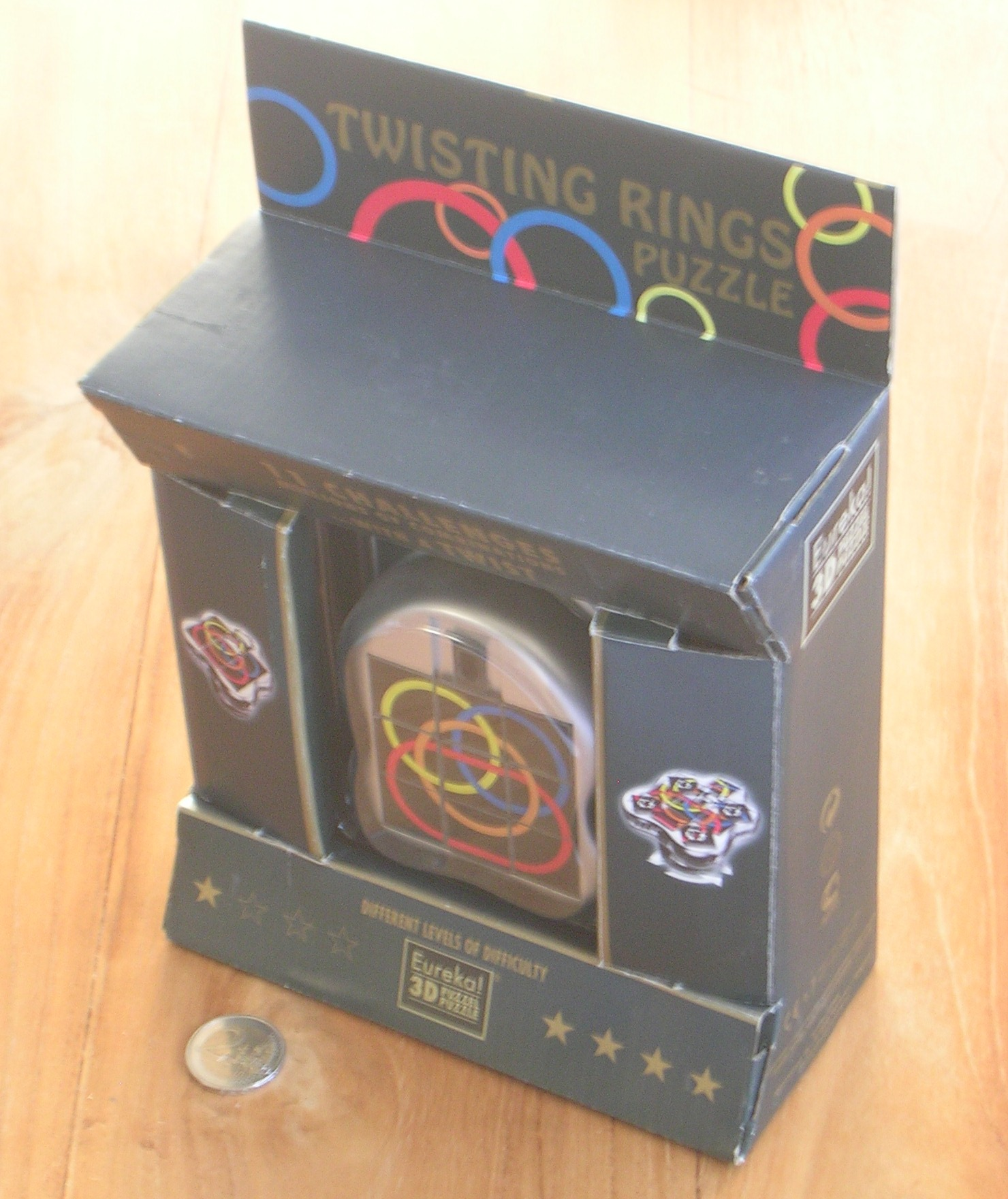 Twisting Puzzle With Rings